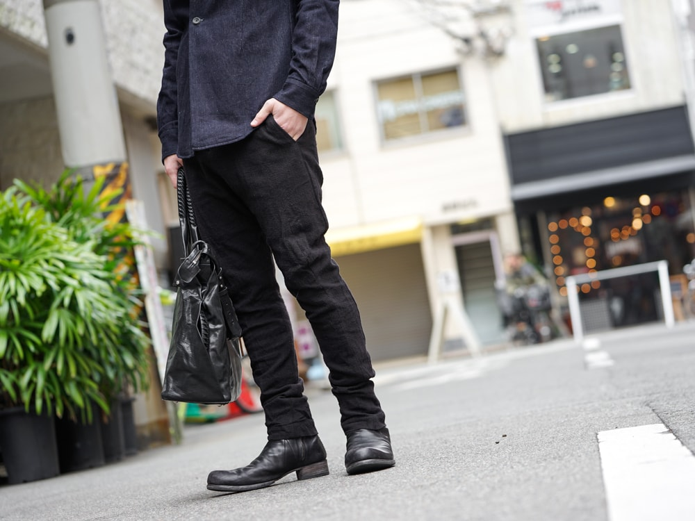 DEVOA 17SS High Neck Jacket GUIDI Calf Leather  07