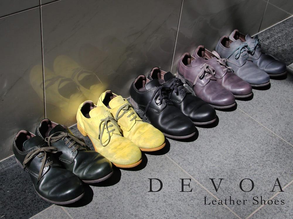 Fas Group Blog Devoa 17ss Leather Shoes