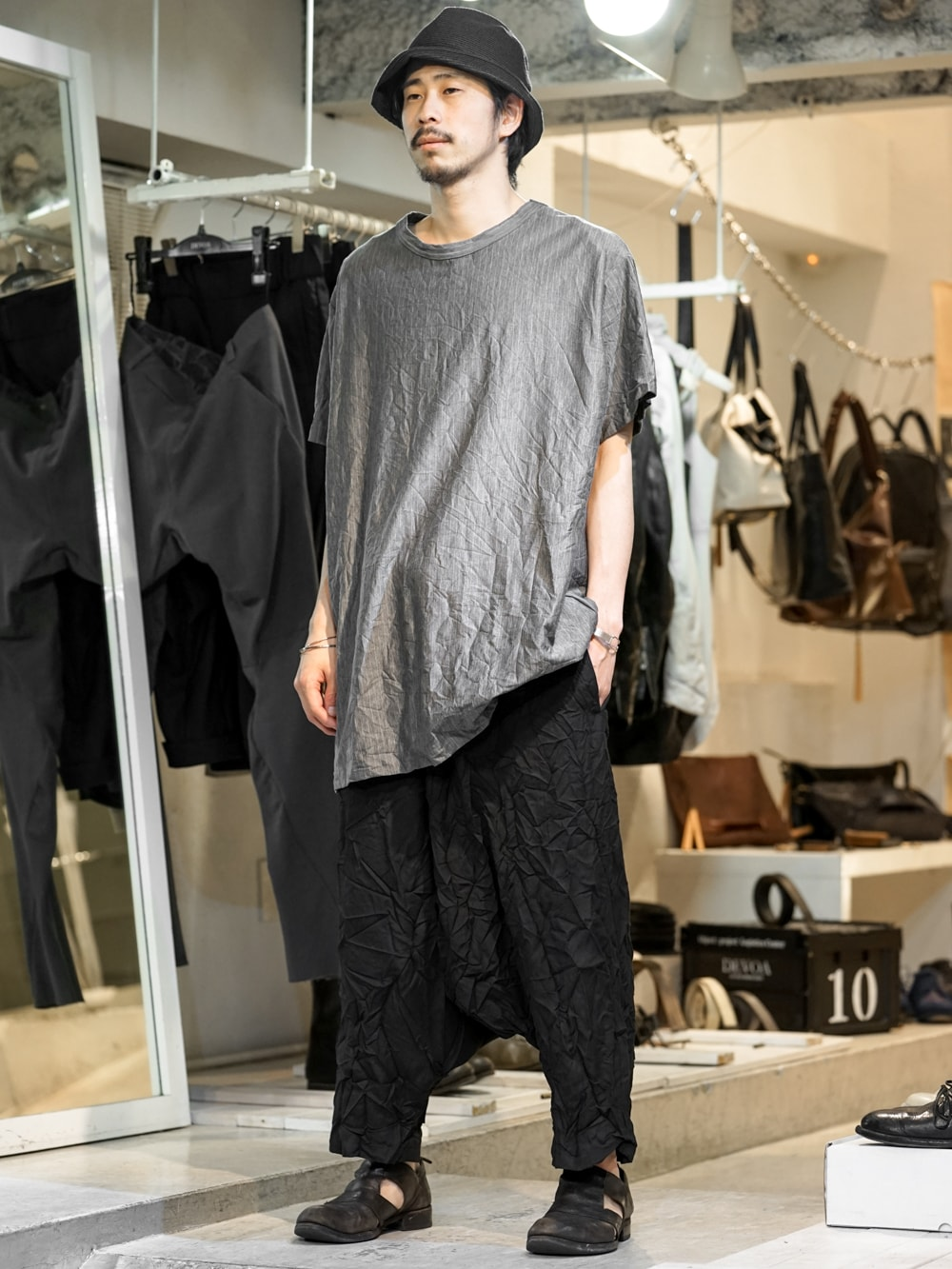 Fas Group Blog Yohji Yamamoto Ss16wrinkled Coordinate