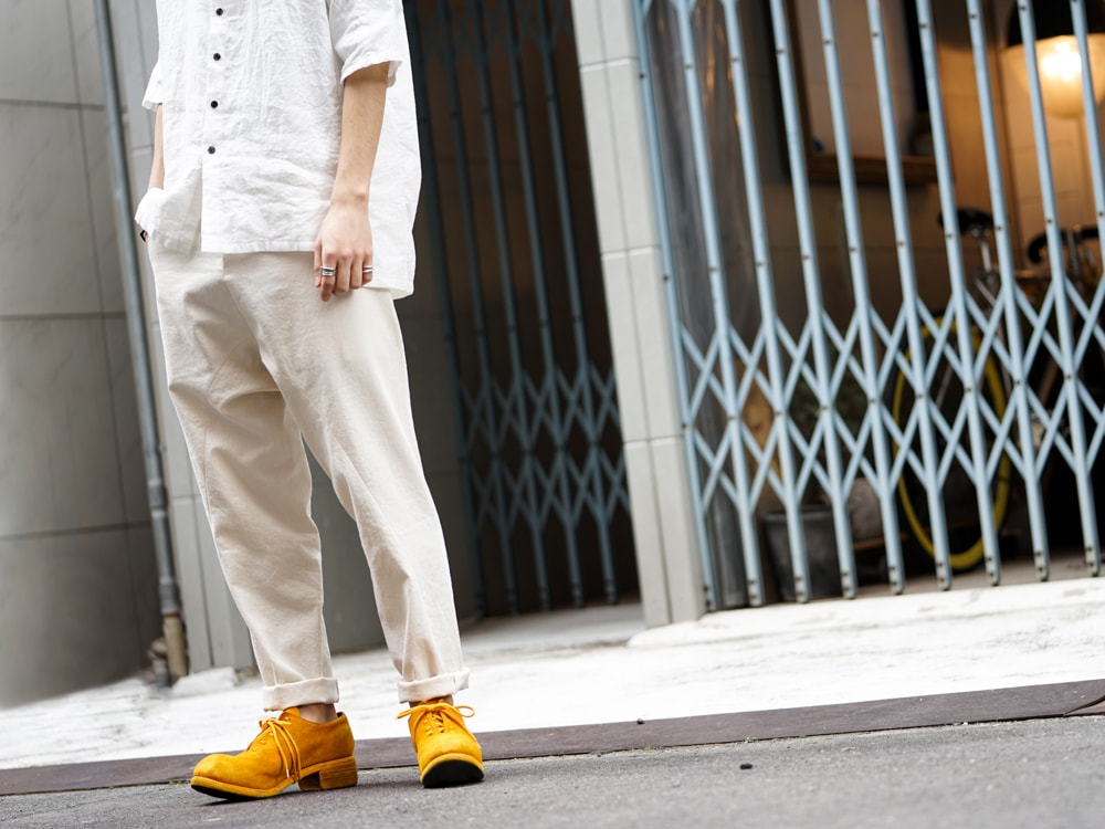The Viridi-anne × golem × GUIDI BIG Shirt Style 07