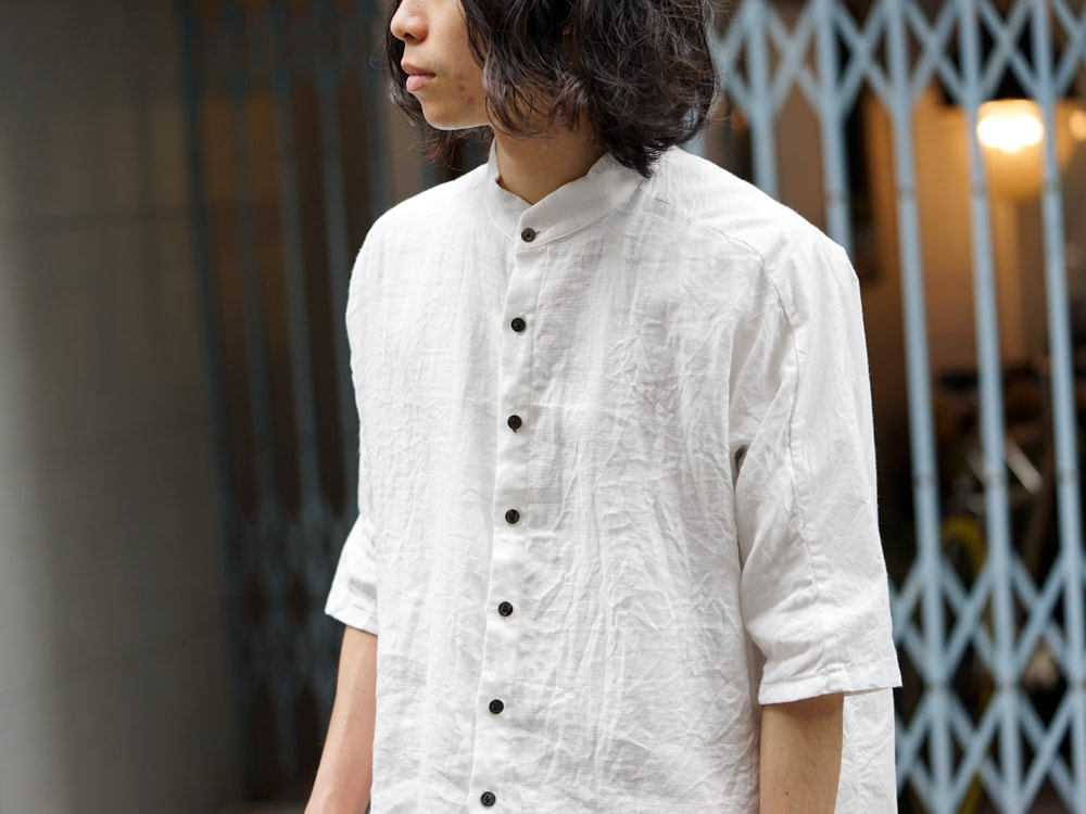 The Viridi-anne × golem × GUIDI BIG Shirt Style 06