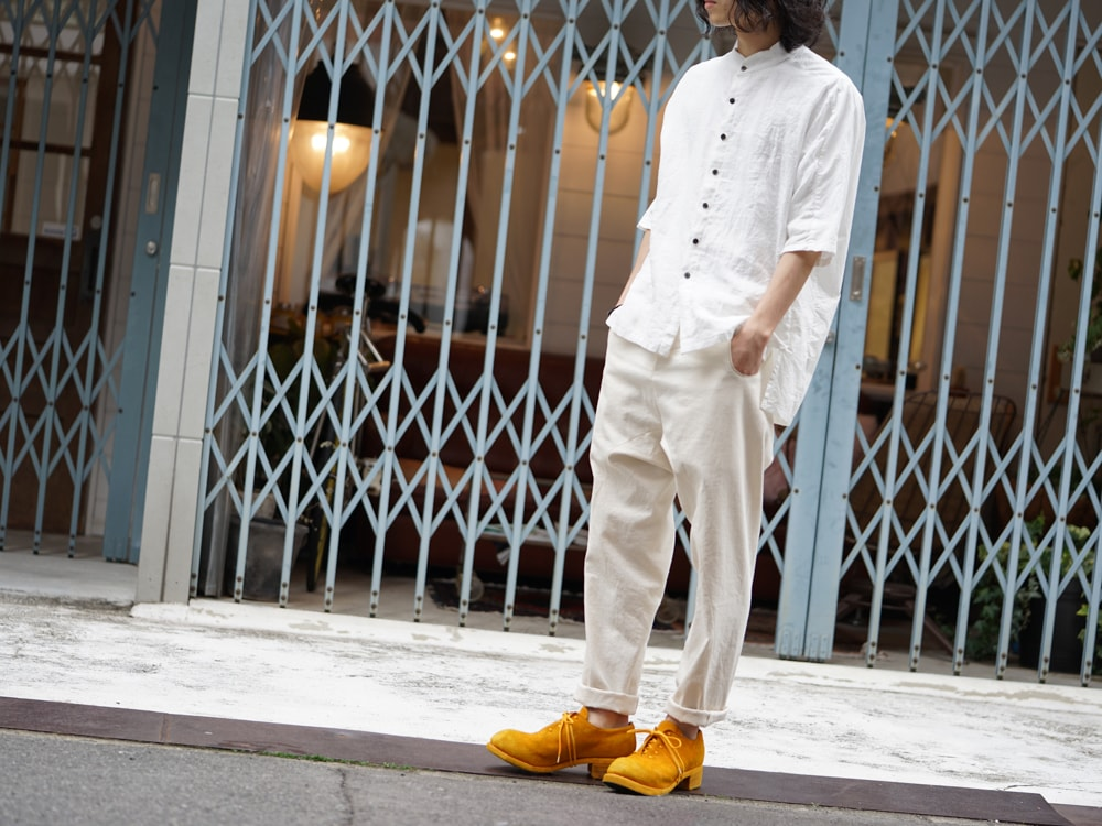 The Viridi-anne × golem × GUIDI BIG Shirt Style 04