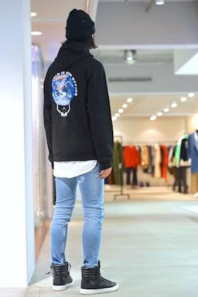 GEO [ World Offce Hoodie ] styling !!