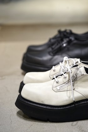 JULIUS 19PS New Item [ DOUBLE ZIP THICK-SOLED SHOES ]