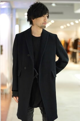 JULIUS 19AW [ Chesterfild Coat ] styling!!!