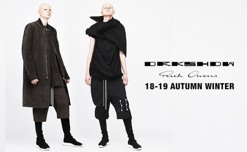 fas group blog drkshdw by rick owens
