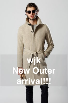 wjk [ 18AW New Outer arrived!! ]