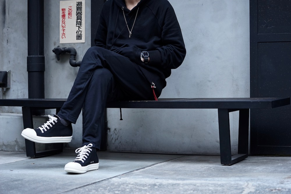 DRKSHDW by RICK OWENS [ CANVAS LOW