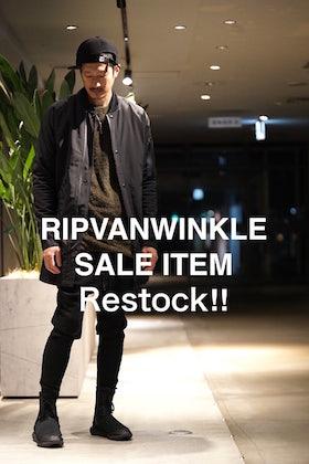 RIPVANWINKLE Sale Item restock !!!