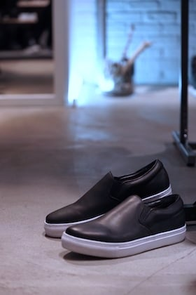 KAZUYUKI KUMAGAI [ GUIDI FIORE Slip On Sneakers ] !!!