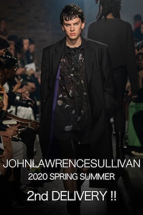 JOHN LAWRENCE SULLIVAN 20 spring summer collection 2nd Delivery !!