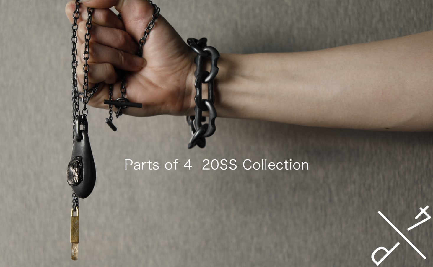 parts of four 20SS Collection