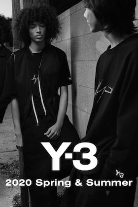 Y-3 20SS Collection New Arrivals!!